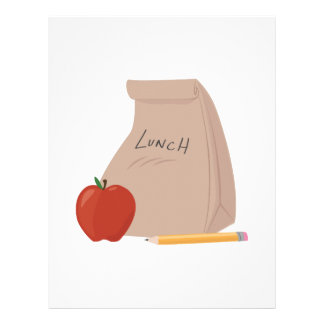Lunch Bag Letterhead Template