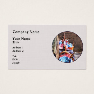 Lunch Basket in One Room Schoolhouse Business Card