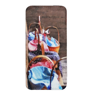 Lunch Basket in One Room Schoolhouse iPhone 5 Pouch