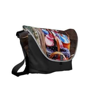 Lunch Basket in One Room Schoolhouse Courier Bag