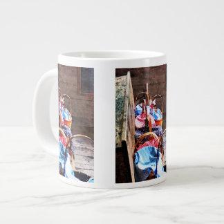 Lunch Basket in One Room Schoolhouse Giant Coffee Mug