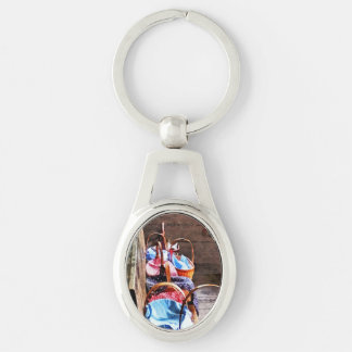 Lunch Basket in One Room Schoolhouse Key Chain