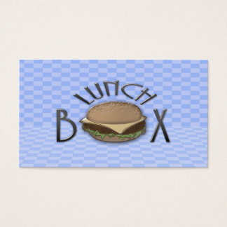 lunch box business card