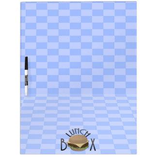 lunch box dry erase board