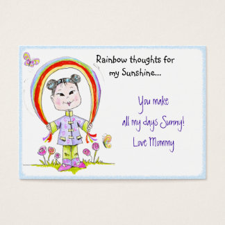 Lunch Box Love Note Business Card