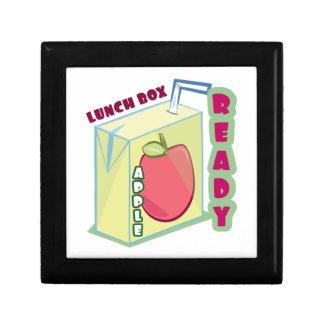 Lunch Box Ready Keepsake Boxes