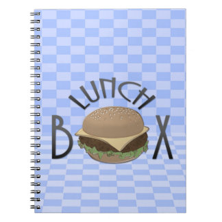 lunch box spiral notebook