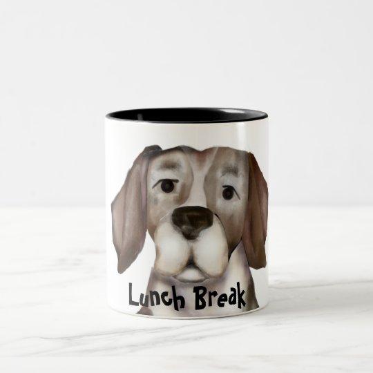 Lunch Break Portrait Mug