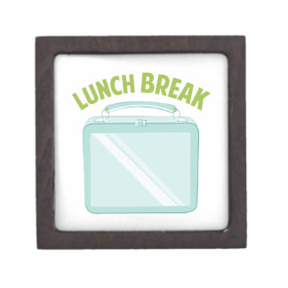 Lunch Break Premium Trinket Boxes