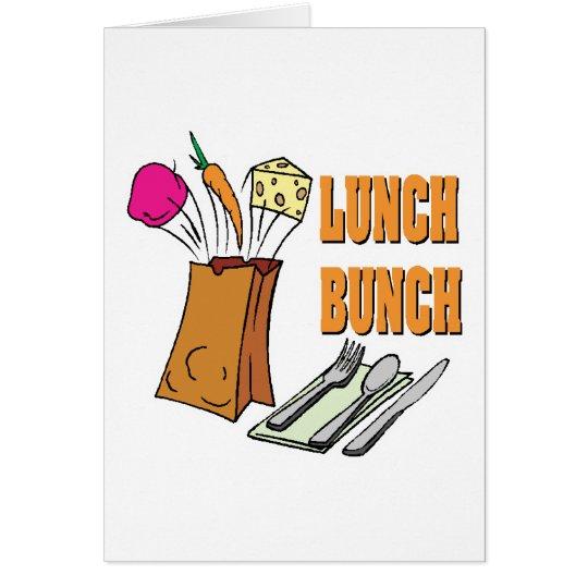 lunch bunch card