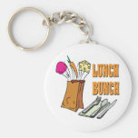 lunch bunch key chains