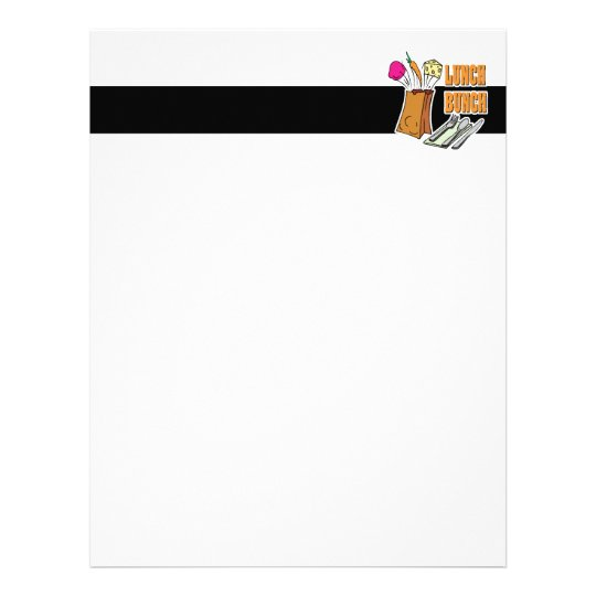 lunch bunch letterhead