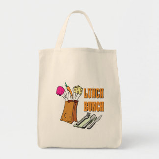 lunch bunch tote bag
