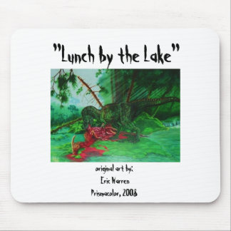 Lunch by the Lake Mouse Pad