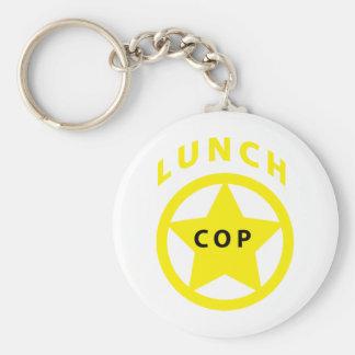 Lunch Cop Keychain