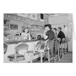 Lunch Counter, 1941 Card