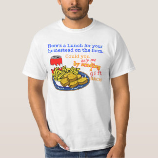 """Lunch for Your Homestead"" Game T-Shirt"