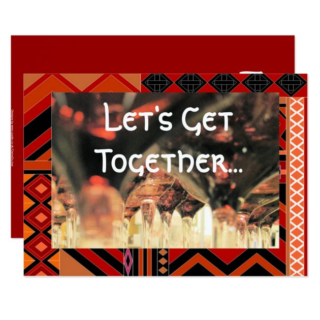 lunch get together invitation