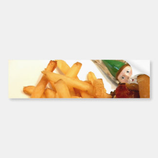 Lunch Gnome Bumper Sticker