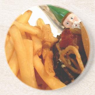 Lunch Gnome Coaster
