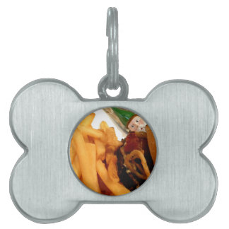 Lunch Gnome Pet ID Tag