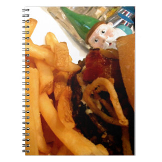 Lunch Gnome Spiral Notebook