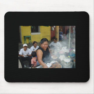 Lunch in Antigua Mouse Pad