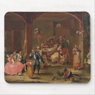 Lunch in the Country (oil on canvas) Mouse Pad