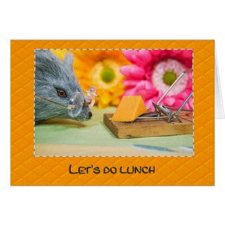 Lunch Invite Card