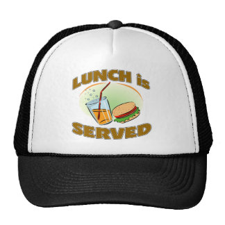 Lunch Is Served Trucker Hat