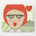 Lunch ladies need love - Customized Mouse Pad