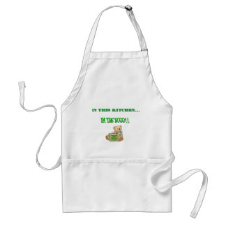lunch lady adult apron