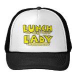 Lunch Lady Cap Trucker Hats