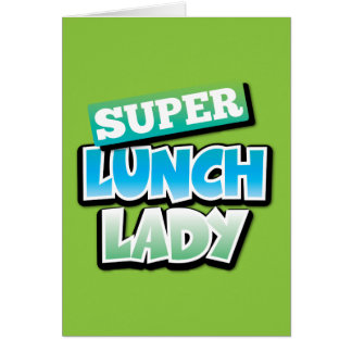 Lunch Lady Card