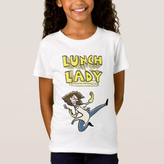 Lunch Lady Girl's Babydoll T-Shirt