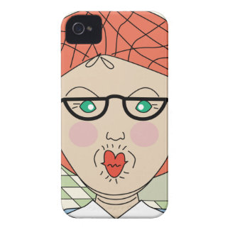 Lunch Lady - I'm One Hot Lunch Lady Case-Mate iPhone 4 Case