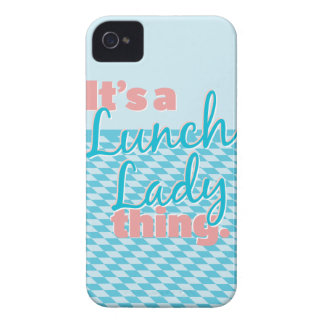 Lunch Lady - It's a Lunch Lady thing. Case-Mate iPhone 4 Case