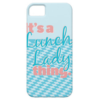 Lunch Lady - It's a Lunch Lady thing. iPhone SE/5/5s Case