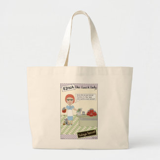 Lunch Lady Large Tote Bag