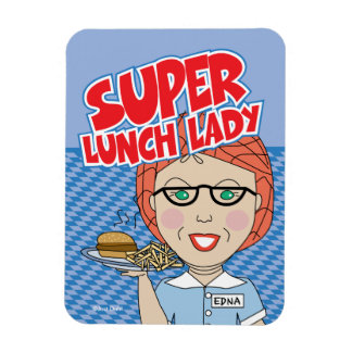 Lunch Lady Magnet - Super