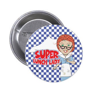 Lunch Lady Pinback Button