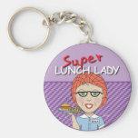 Lunch Lady - Super Lunch Lady Keychain