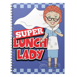 Lunch Lady - Super Lunch Lady Spiral Notebook