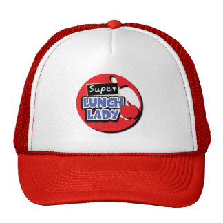 Lunch Lady - Super Trucker Hat