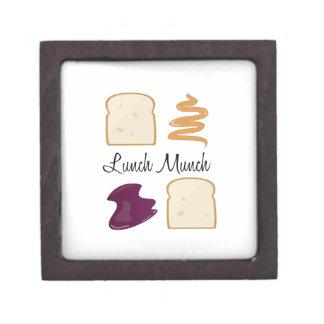 Lunch Munch Premium Keepsake Boxes