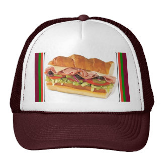 Lunch Sub Cap Trucker Hat