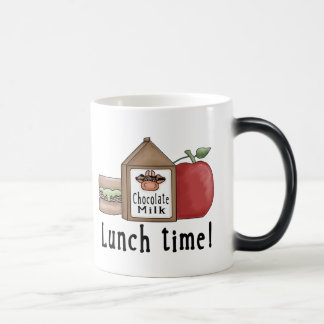 Lunch Time 11 Oz Magic Heat Color-Changing Coffee Mug