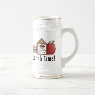 Lunch Time 18 Oz Beer Stein