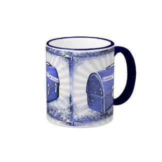 Lunch Time Fling Blues Coffee Mugs