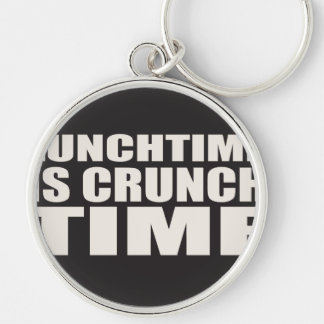 Lunch Time is Crunch Time Keychain